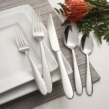 oneida eve 42 piece casual flatware set service for 8 extra 30