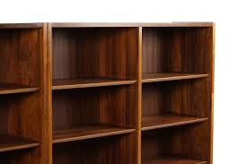 Large Bookcases Large Pair Of 1960s Poul Hundevad Bookcases Rosewood Danish Modern