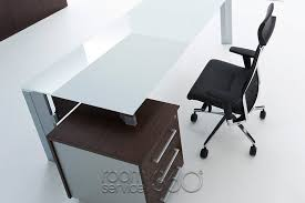 Executive Office Furniture Amazon 1 Modern Executive Office Desk By Uffix Made In Italy