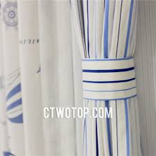 White And Blue Striped Curtains Brilliant Nautical Striped Curtains Inspiration With And Sailboat