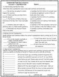 grammar worksheets and tests grades 7 8 no prep printables by