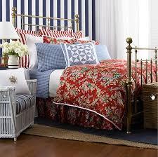 Queen Duvet Comforter Amazon Com Ralph Lauren Bedding Belle Harbor Red Floral Full