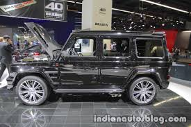 brabus 900 based on mercedes amg g65 showcased at iaa 2017