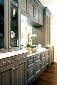 Gray Stained Kitchen Cabinets Bathroom Stunning The Grey Kitchen Cabinets Decoration Idea