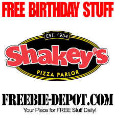 Shakeys Pizza Buffet by Free Birthday Stuff U2013 Shakey U0027s Pizza Parlor Freebie Depot