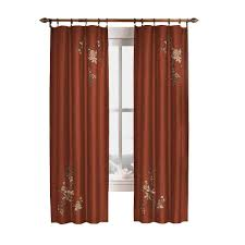 dark brown wood curtains u0026 drapes window treatments the home