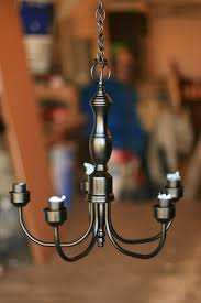 How To Refurbish A Chandelier Refurbished Chandelier Diy Project Romantic Eau Claire