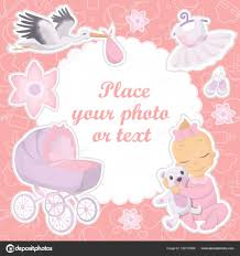 baby girl photo album baby girl photo album cover stock vector inspiring vector