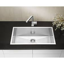 BLANCO Canada SOP Precision Microedge Super Single Kitchen - Blanco kitchen sinks canada