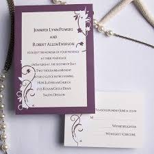 sts for wedding invitations purple wedding invitations cheap wedding invitations free