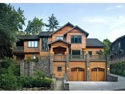 hillside walkout basement house plans house plans for hillside lots multi level house for a