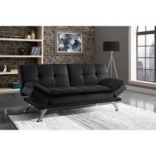 milton green lugo plush futon sofa bed hayneedle