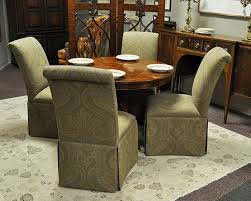 Dining Room Sets With Wheels On Chairs Manificent Decoration Dining Room Chairs With Casters Majestic