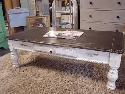 farmhouse coffee table plans with a shutter
