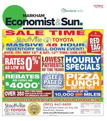 toyota financial services markham markham economist u0026 sun may 11 2017 by markham economist u0026 sun