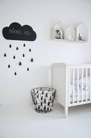 chambre bébé noir et blanc une chambre d enfant en noir et blanc en noir chambre enfant et