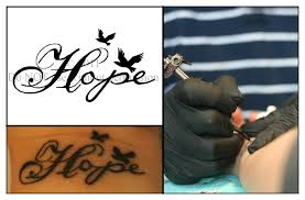 hope tattoo by ladyhawk21 on deviantart