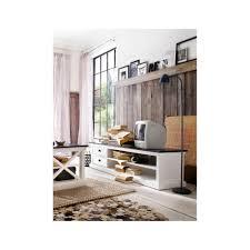 Meuble Salon Noir Et Blanc by Meuble Tv Bois Et Noir U2013 Artzein Com