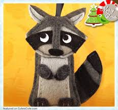 101 best raccoons ornaments images on