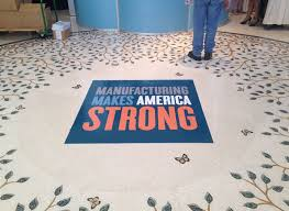 floor graphics to advertise and guide