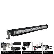 30 inch led light bar 30 inch single row series led light bar with combo optics 150w