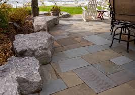 Flagstone Patios And Walkways Backyard Patios U0026 Walkway Ideas Essex Outdoor Design