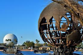 Map Of Epcot World Showcase Earth Globe In World Showcase At Epcot In Orlando Florida