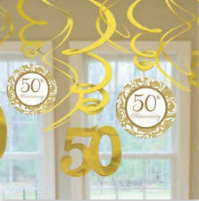 50th anniversary decorations 50th anniversary decorations ebay
