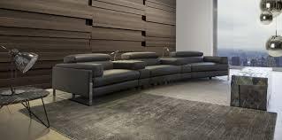 calia italia canapé en cuir canapé modulable design original en cuir 3 places romeo