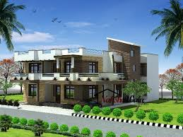 Row Houses Elevation - 8384duplex house elevation s jpg house elevation indian