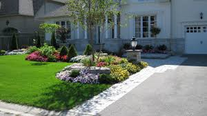 Front Entrance Landscaping Ideas What Kind Of Landscaping Goes With Stone Front Houses 10 Ways To