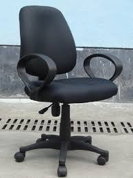 Office Chair Without Armrest Cheap Cloth Export Single Computer Chair Without Armrests Office