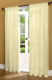 Crushed Sheer Voile Curtains by Insulated Sheer Curtains Thermal Semi Sheer Window Curtains