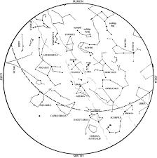 Northern Hemisphere Map Star Map September 2016 Beyondbones