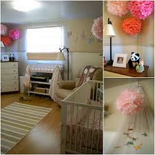 Decorate Nursing Home Room by Decorating With Paper Pom Poms