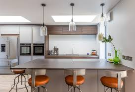 kitchen extension design kitchen gavin maddock design studio pendant lighting marble