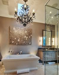 Pictures Of Bathroom Lighting 27 Gorgeous Bathroom Chandelier Ideas Designing Idea