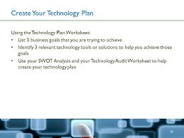 tech made simple creating a technology plan for your small
