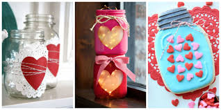 Valentine S Day Homemade Gift Ideas by 25 Cute Valentines Day Mason Jars Ideas Valentine U0027s Day Mason Jar