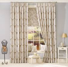 Jcpenney Dining Room Decor Deluxe Jc Penney Drapes In White And Brown Color Combined