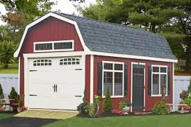 Garage With Loft Premier One Car Garages Awesome Premade Garages