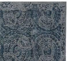 When Do Pottery Barn Rugs Go On Sale Nolan Persian Style Rug Neutral Pottery Barn Floor Cloth
