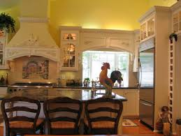 country kitchen design country kitchen decor themes glass door island cream painted