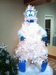 snowman tree animebgx