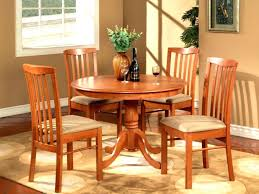 Round White Table And Chairs For Kitchen by White And Wood Kitchen Table U2013 Thelt Co