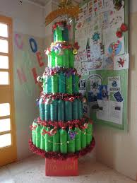 christmas decorations to make out of recycled material ne wall