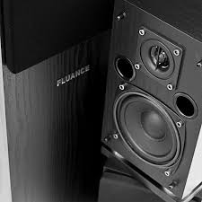 powered home theater speakers fluance sxhtb bk high definition surround sound home theater