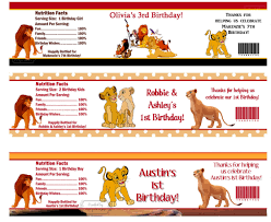 homemade lion king baby shower centerpieces u2013 home party theme ideas