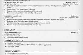 Accounts Payable Resume Examples by Accounts Receivable Supervisor Resume Samples Reentrycorps