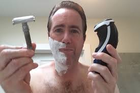 electric shaver is better than a razor for in grown hair electric razor shaving vs safety razor shaving youtube